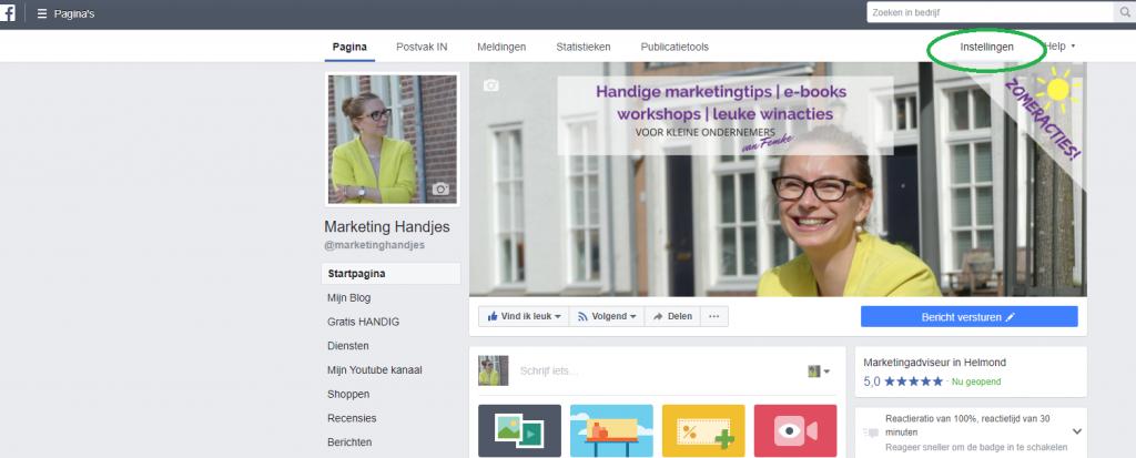 Facebook groep maken op je bedrijfspagina