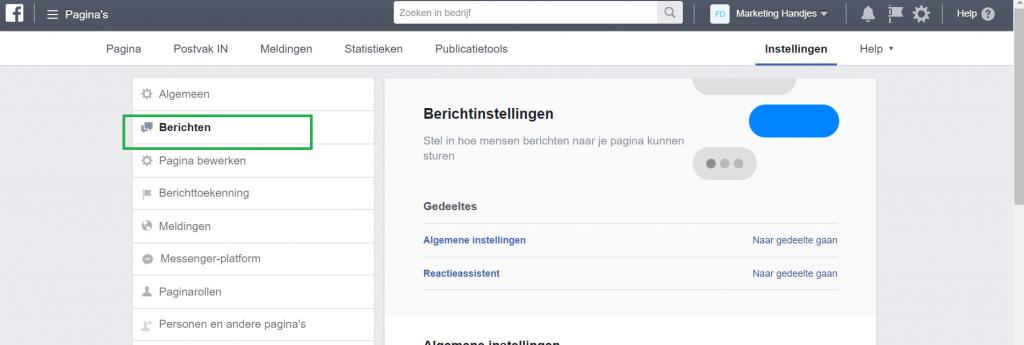 Reacties-instellen-facebookpagina